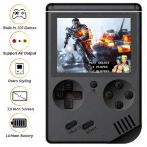 Handheld Game Console 8 Bit - 168 Games
