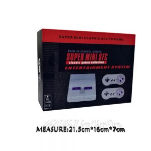 16 bit SNES style system - built in 100 games & AV output