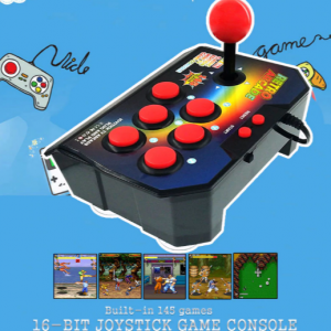 Retro Joystick Video Game, 16 Bit, 145 Arcade Games