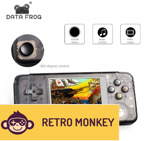 Upgraded Version Retro Handheld Game Console 64Bit - Built-in 3000 Games