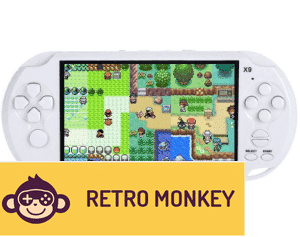Rechargeable 5.0 inch 8G Handheld Retro Game